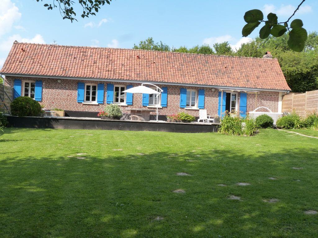 Ferienhaus Schönes Ferienhaus mit Whirlpool in Mouriez, Nordfrankreich (59279), Hesdin, Pas-de-Calais, Nord-Pas-de-Calais, Frankreich, Bild 1