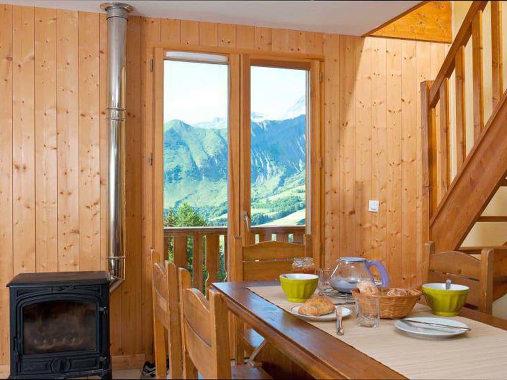 Ferienwohnung Gepflegte Ferienwohnung in Les Sybelles mit 310 km Pisten (76266), Le Chalmieu, Savoyen, Rhône-Alpen, Frankreich, Bild 4