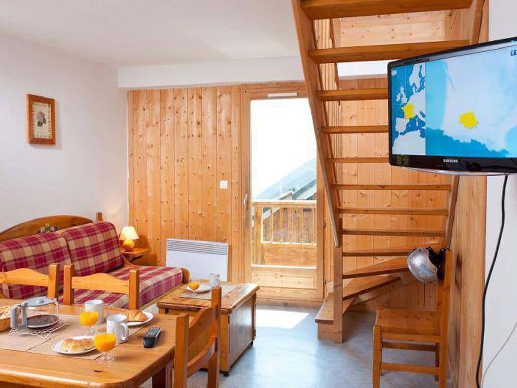 Ferienwohnung Gepflegte Ferienwohnung in Les Sybelles mit 310 km Pisten (76267), Le Chalmieu, Savoyen, Rhône-Alpen, Frankreich, Bild 6