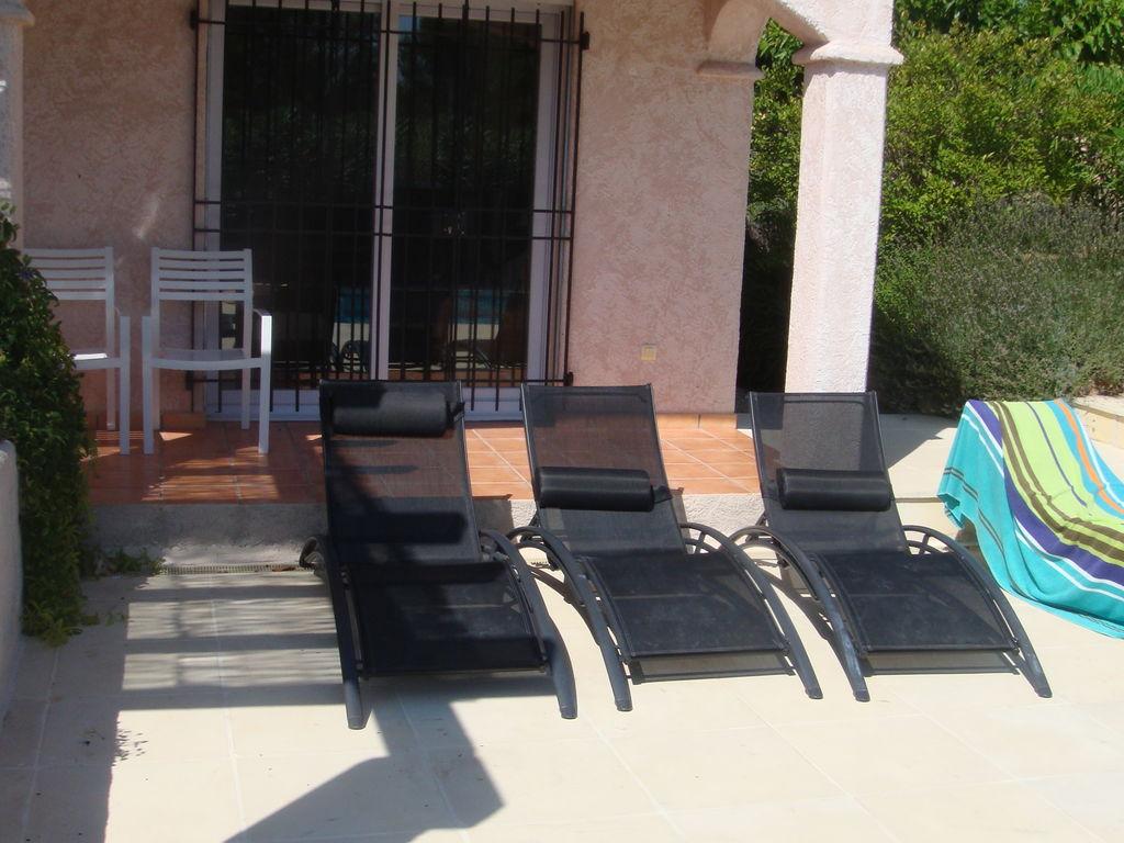 Ferienhaus Wunderschöne Villa in Bagnols-en-Forêt mit Swimmingpool (90035), Fréjus, Côte d'Azur, Provence - Alpen - Côte d'Azur, Frankreich, Bild 32