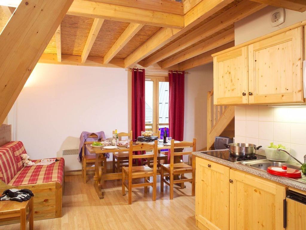 Ferienwohnung Gepflegte Ferienwohnung in Les Sybelles mit 310 km Pisten (94770), Le Chalmieu, Savoyen, Rhône-Alpen, Frankreich, Bild 7