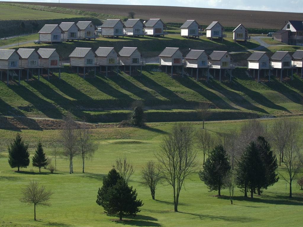 Ferienhaus Authentisches Holz-Ferienhaus in ruhiger grüner Umgebung (256245), Buigny St Maclou, Somme, Picardie, Frankreich, Bild 6