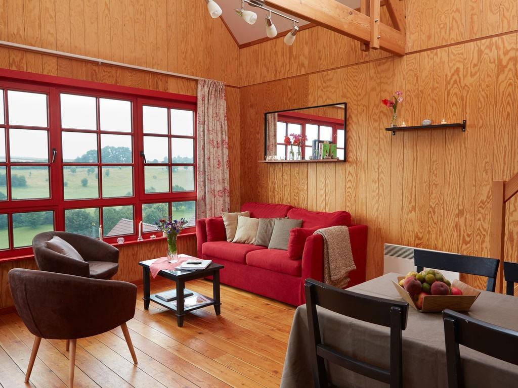 Ferienhaus Authentisches Holz-Ferienhaus in ruhiger grüner Umgebung (256245), Buigny St Maclou, Somme, Picardie, Frankreich, Bild 12