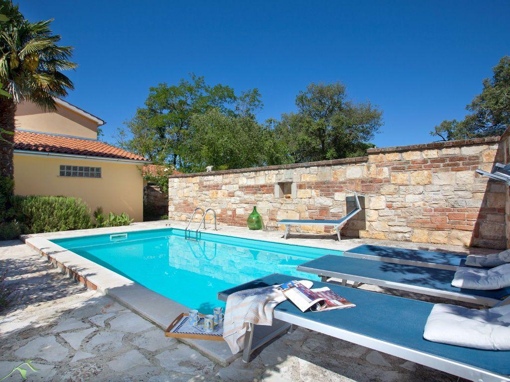 Ferienhaus Traditionelles Ferienhaus in Umag mit privatem Pool (122365), Umag, , Istrien, Kroatien, Bild 4