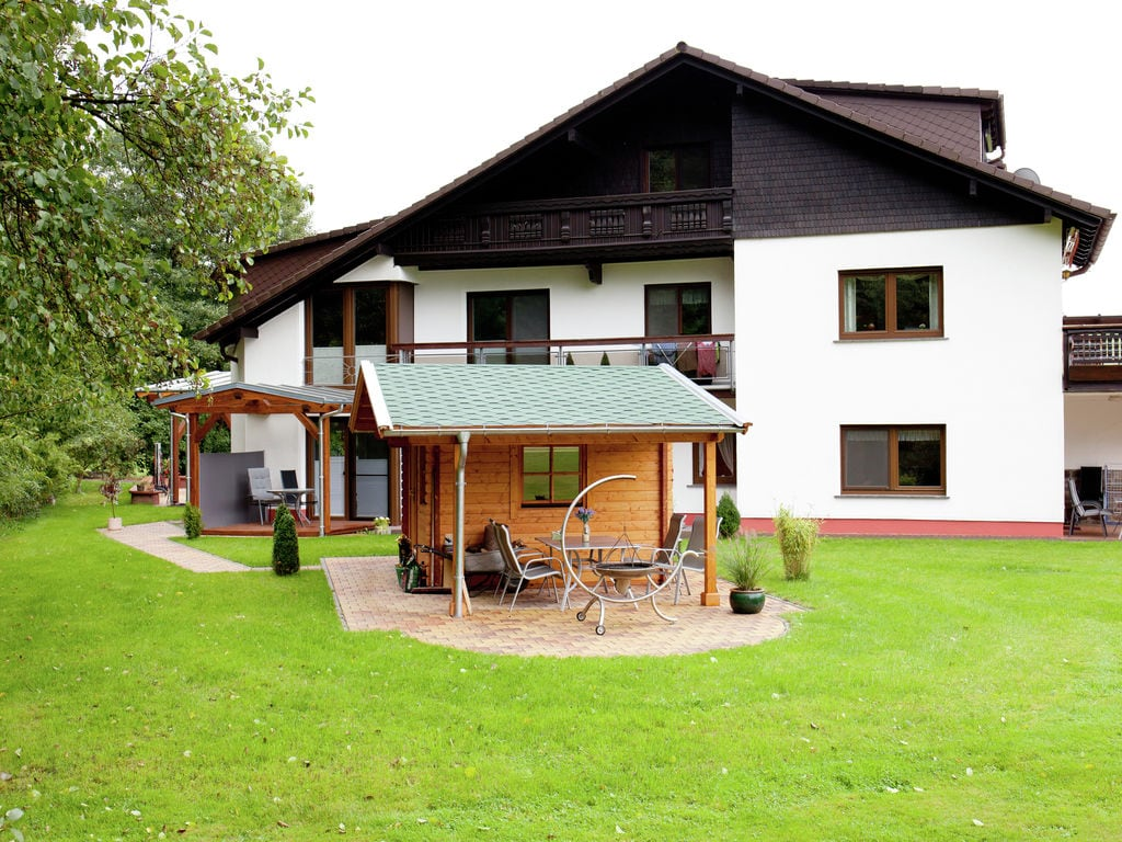 Holiday apartment Boutique-Wohnung mit Balkon und Terrasse in Hüttenthal (134049), Mossautal, Odenwald (Hesse), Hesse, Germany, picture 3