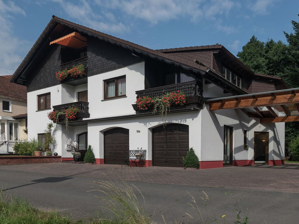 Holiday apartment Boutique-Wohnung mit Balkon und Terrasse in Hüttenthal (134049), Mossautal, Odenwald (Hesse), Hesse, Germany, picture 2