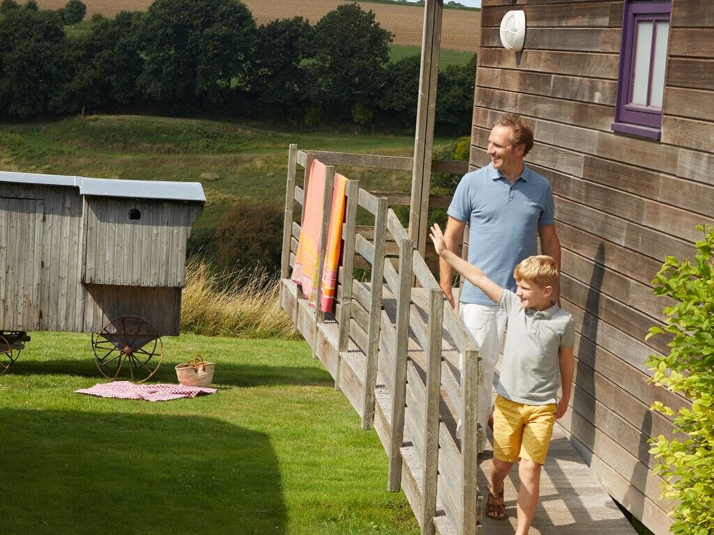 Ferienhaus Authentisches Holz-Ferienhaus in ruhiger grüner Umgebung (256244), Buigny St Maclou, Somme, Picardie, Frankreich, Bild 7