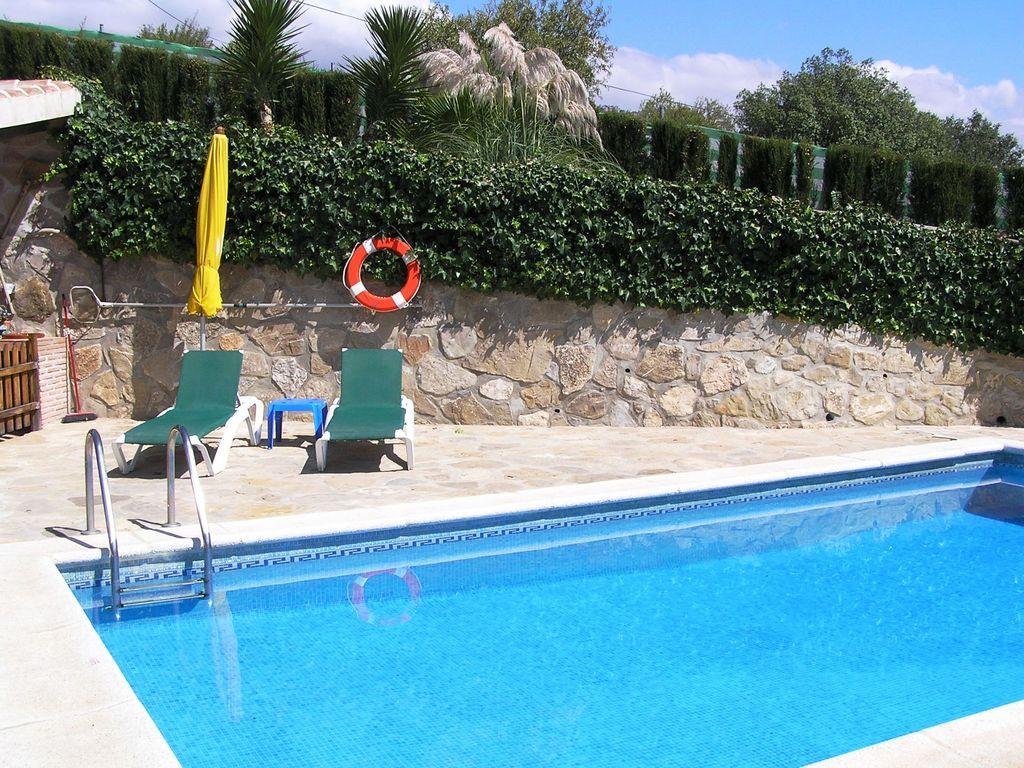 Ferienhaus Traditionelle Villa in Andalusien mit Privatterrasse, Pool (139929), Villanueva de la Concepcion, Malaga, Andalusien, Spanien, Bild 8