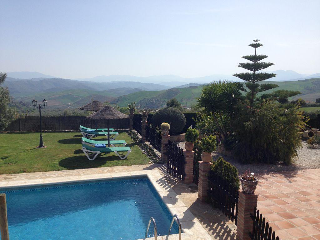 Ferienhaus Traditionelle Villa in Andalusien mit Privatterrasse, Pool (139929), Villanueva de la Concepcion, Malaga, Andalusien, Spanien, Bild 9