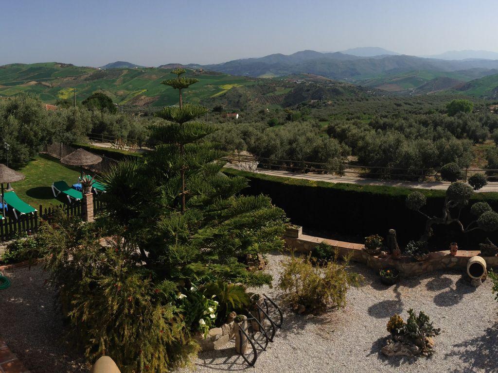 Ferienhaus Traditionelle Villa in Andalusien mit Privatterrasse, Pool (139929), Villanueva de la Concepcion, Malaga, Andalusien, Spanien, Bild 10