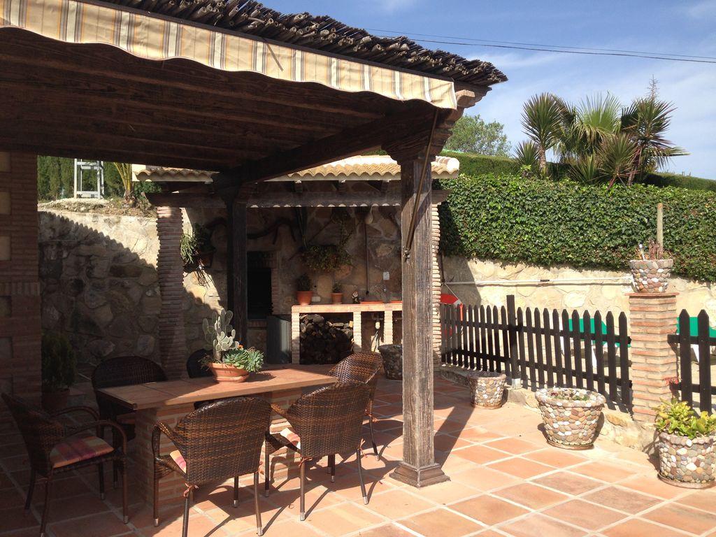 Ferienhaus Traditionelle Villa in Andalusien mit Privatterrasse, Pool (139929), Villanueva de la Concepcion, Malaga, Andalusien, Spanien, Bild 27