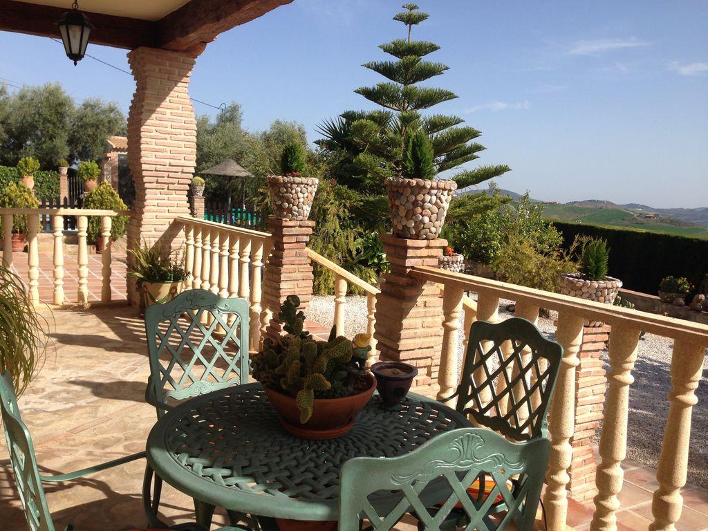 Ferienhaus Traditionelle Villa in Andalusien mit Privatterrasse, Pool (139929), Villanueva de la Concepcion, Malaga, Andalusien, Spanien, Bild 4