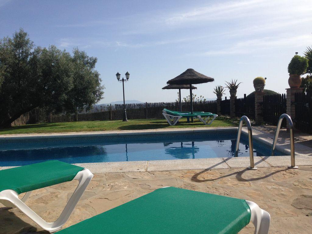 Ferienhaus Traditionelle Villa in Andalusien mit Privatterrasse, Pool (139929), Villanueva de la Concepcion, Malaga, Andalusien, Spanien, Bild 5
