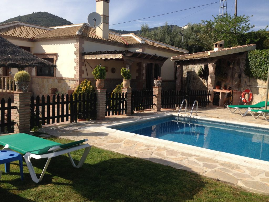 Ferienhaus Traditionelle Villa in Andalusien mit Privatterrasse, Pool (139929), Villanueva de la Concepcion, Malaga, Andalusien, Spanien, Bild 2
