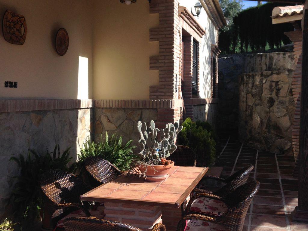 Ferienhaus Traditionelle Villa in Andalusien mit Privatterrasse, Pool (139929), Villanueva de la Concepcion, Malaga, Andalusien, Spanien, Bild 28