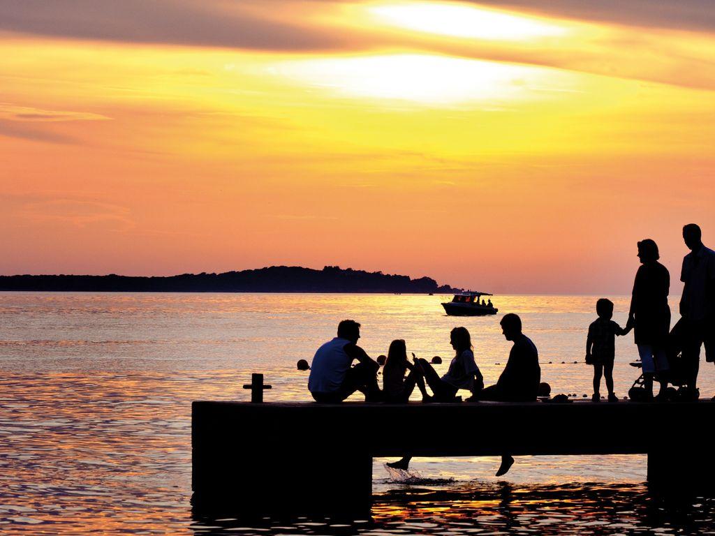 Ferienhaus Sorgfältig möblierter Bungalow mit 2 Bädern, 7 km von Pula (256428), Fažana, , Istrien, Kroatien, Bild 23
