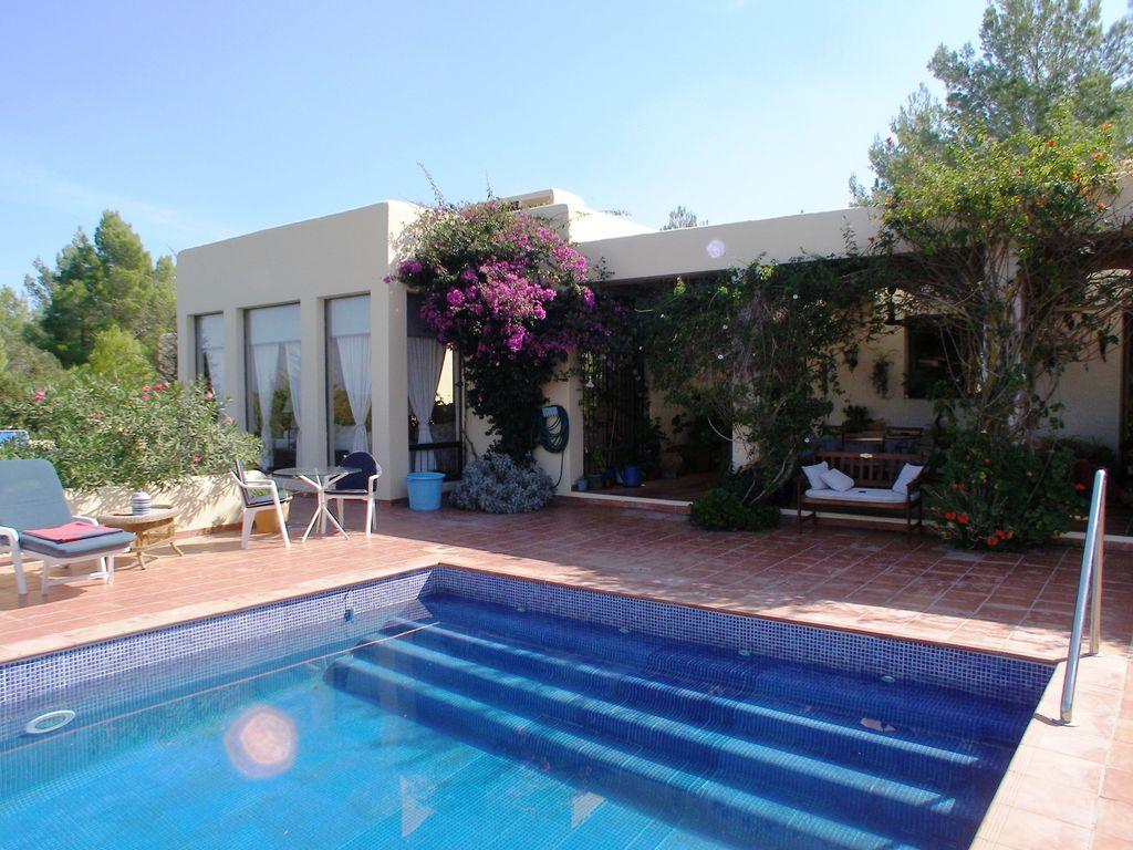 Ferienhaus Helle amerikanische Villa mit Pool in St Joan de Labritja (562957), San Miguel de Balansat, Ibiza, Balearische Inseln, Spanien, Bild 9