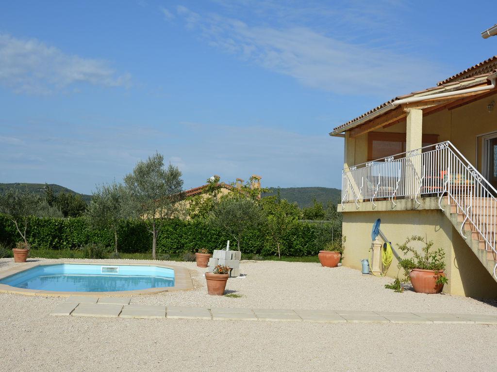 Ferienhaus Villa mit Pool und Talblick in Saint-Laurent-de-Carnols (303677), Bagnols sur Cèze, Gard Binnenland, Languedoc-Roussillon, Frankreich, Bild 4