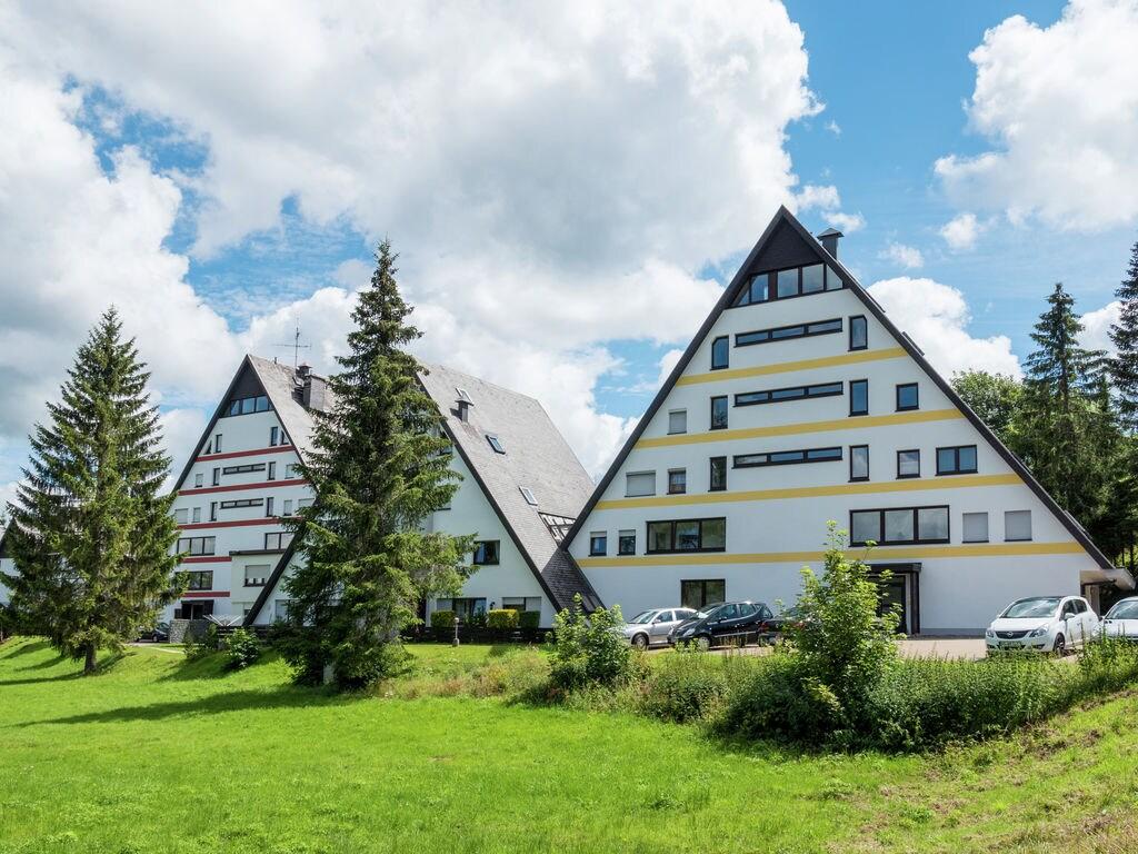 Reizende Wohnung mit der Sauna in Schönwald i Ferienpark