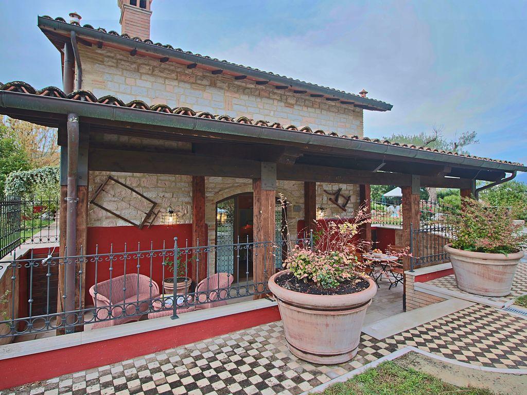 Ferienhaus Modernes entspannendes Ferienhaus in Cagli mit Sauna (256829), Cagli, Pesaro und Urbino, Marken, Italien, Bild 2