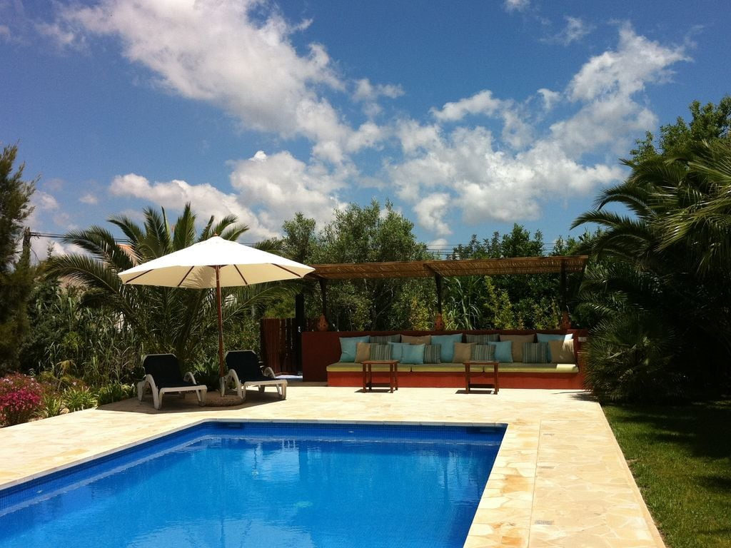 Ferienhaus Geräumiges Ferienhaus in St. Josep de sa Talaia mit Pool (562880), Urbanització Sierra Mar, Ibiza, Balearische Inseln, Spanien, Bild 4