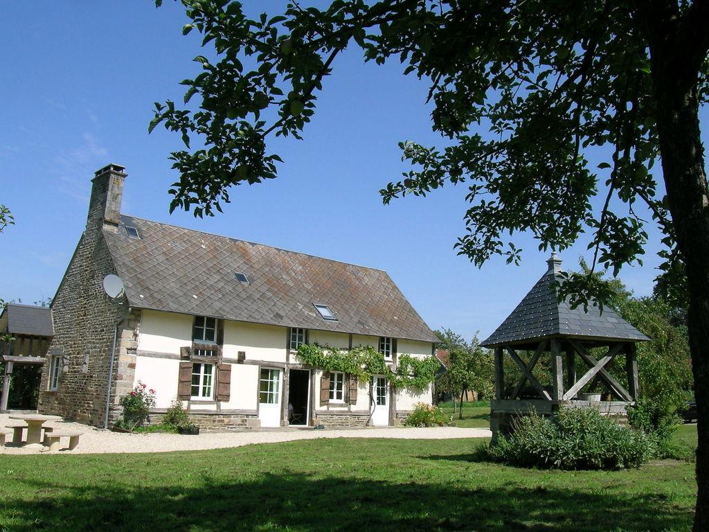 Ferienhaus Gemütliches Ferienhaus in Le Mesnil-Boeufs mit Garten (223542), Isigny le Buat, Manche, Normandie, Frankreich, Bild 6