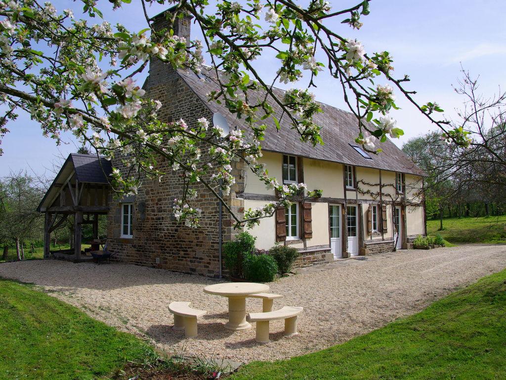 Ferienhaus Gemütliches Ferienhaus in Le Mesnil-Boeufs mit Garten (223542), Isigny le Buat, Manche, Normandie, Frankreich, Bild 7