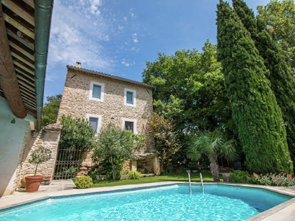 Holiday house Wunderschönes Ferienhaus mit Schwimmbad in Oppède (224953), Oppède, Vaucluse, Provence - Alps - Côte d'Azur, France, picture 3