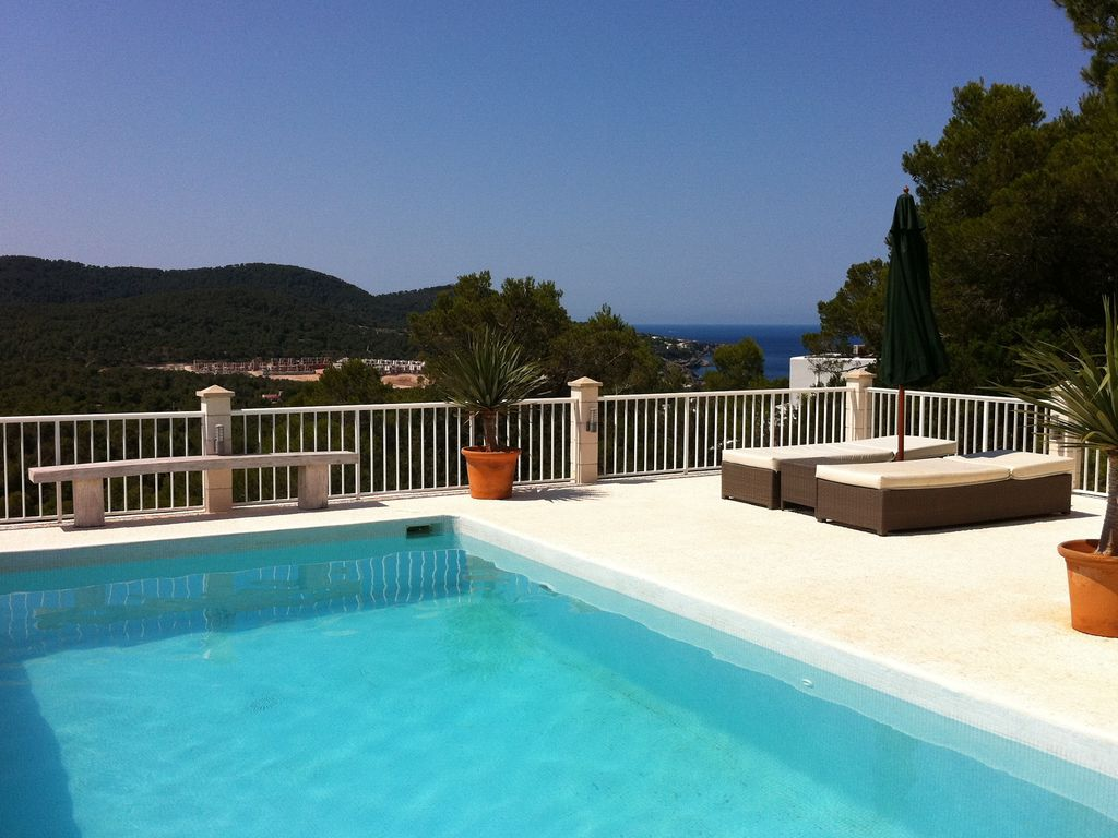 Ferienhaus Wunderschöne Villa in Cala Tarida mit Swimmingpool (562884), Cala Bassa, Ibiza, Balearische Inseln, Spanien, Bild 9