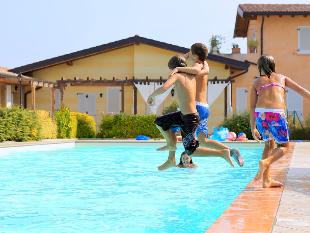 Ferienhaus Komfortables Ferienhaus in Manerba del Garda mit Pool (244573), Nuvolento, Brescia, Lombardei, Italien, Bild 7