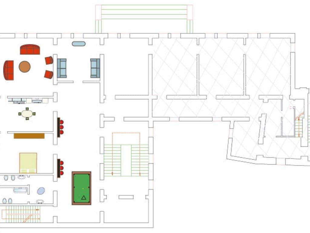Ferienhaus Traumschloss mit königlichem Ambiente bei Padua und Venedig (261624), Monselice, Padua, Venetien, Italien, Bild 25
