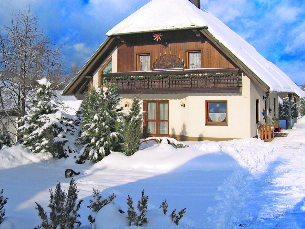Holiday apartment Schöne Ferienwohnung in Pöhla Sachsen in Skigebietsnähe (420255), Schwarzenberg (DE), The Ore Mountains, Saxony, Germany, picture 1