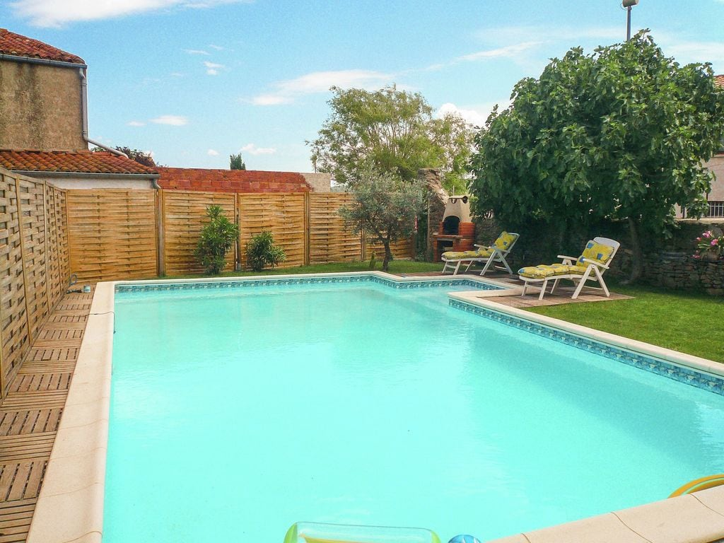 Ferienhaus Reizendes Ferienhaus mit Swimmingpool in Talairan (270104), Lagrasse, Aude Binnenland, Languedoc-Roussillon, Frankreich, Bild 4