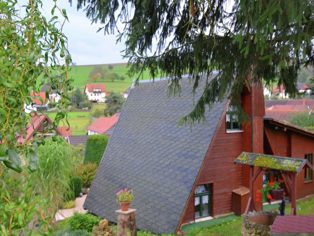 Ferienhaus Finnhütte Bergblick (270037), Wutha-Farnroda, Thüringer Wald, Thüringen, Deutschland, Bild 4