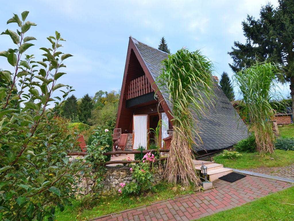 Ferienhaus Finnhütte Bergblick (270037), Wutha-Farnroda, Thüringer Wald, Thüringen, Deutschland, Bild 2