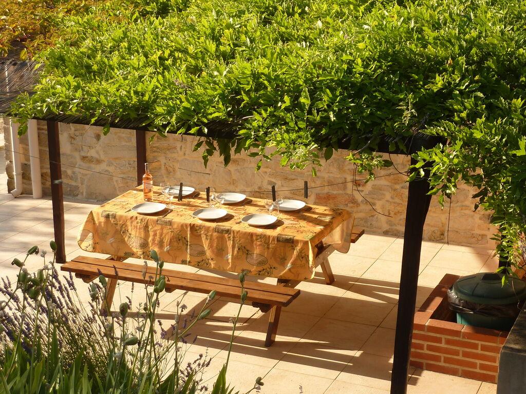 Ferienhaus Geräumiges Ferienhaus mit Swimmingpool in Courry (294386), Saint Ambroix, Gard Binnenland, Languedoc-Roussillon, Frankreich, Bild 6