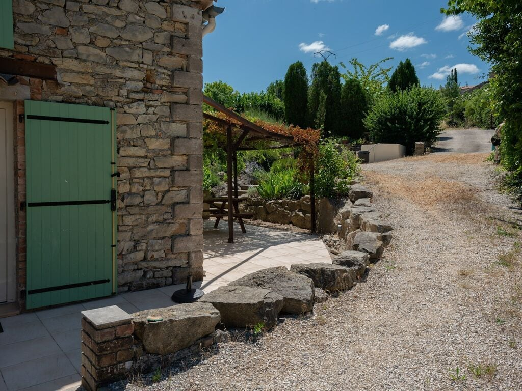 Ferienhaus Geräumiges Ferienhaus mit Swimmingpool in Courry (294386), Saint Ambroix, Gard Binnenland, Languedoc-Roussillon, Frankreich, Bild 9