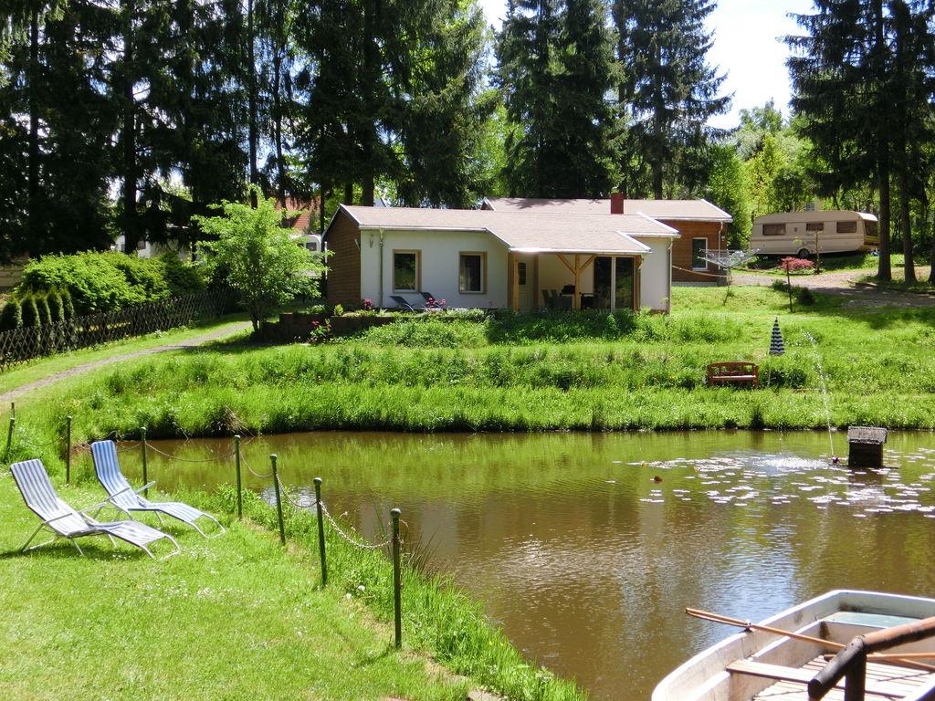 Ferienhaus Gemütliches Ferienhaus mit Sauna in Thüringen (296826), Friedrichroda, Thüringer Wald, Thüringen, Deutschland, Bild 3
