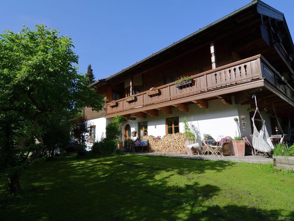 Ferienwohnung in Ruhpolding, Deutschland mit Alpen