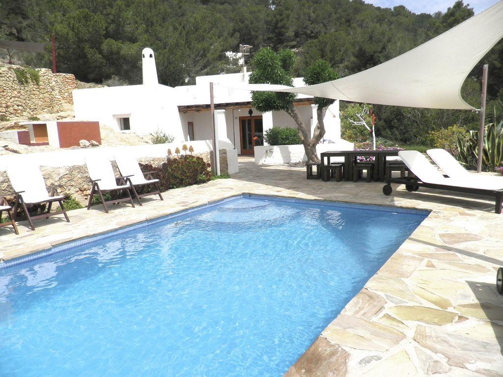 Ferienhaus Modernes Ferienhaus mit Pool auf den Balearen (562923), Urbanització Sierra Mar, Ibiza, Balearische Inseln, Spanien, Bild 1