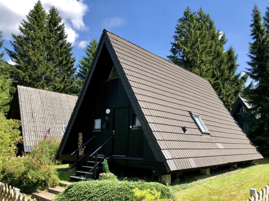 Ferienhaus Freistehender Bungalow mit Ofen im Oberharz, in Seenähe (310974), Clausthal-Zellerfeld, Harz (Niedersachsen), Niedersachsen, Deutschland, Bild 3
