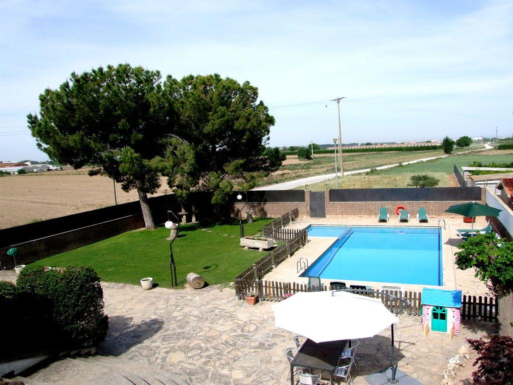Ferienhaus Geräumiges Ferienhaus mit eigenem Pool in Katalonien (322585), Vilanova de Bellpuig, Lleida, Katalonien, Spanien, Bild 1