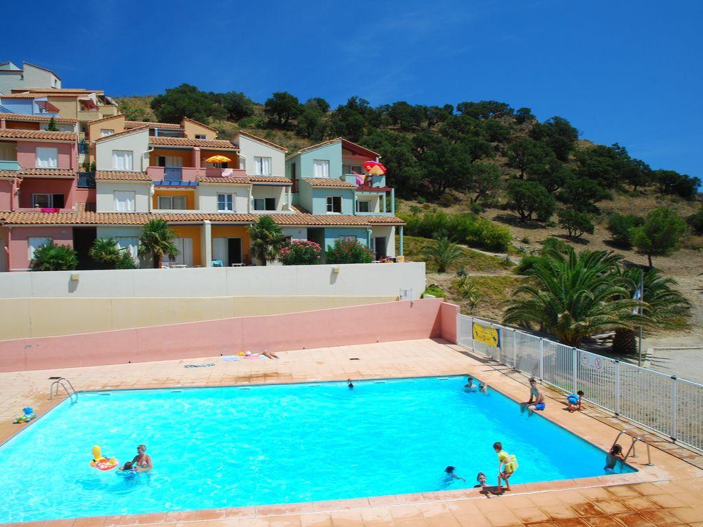 Ferienwohnung Village des Aloes 6 (341994), Cerbère, Mittelmeerküste Pyrénées-Orientales, Languedoc-Roussillon, Frankreich, Bild 9