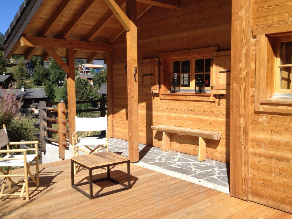 Ferienhaus Ruhiges Chalet in La Tzoumaz mit Bergblick (338135), Mayens-de-Riddes, 4 Vallées, Wallis, Schweiz, Bild 2