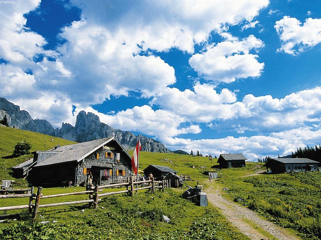 Maison de vacances Ruhiges Chalet im Thalgau, Salzburg mit Bergblick (343303), Thalgau, Salzbourg plaine, Salzbourg, Autriche, image 3