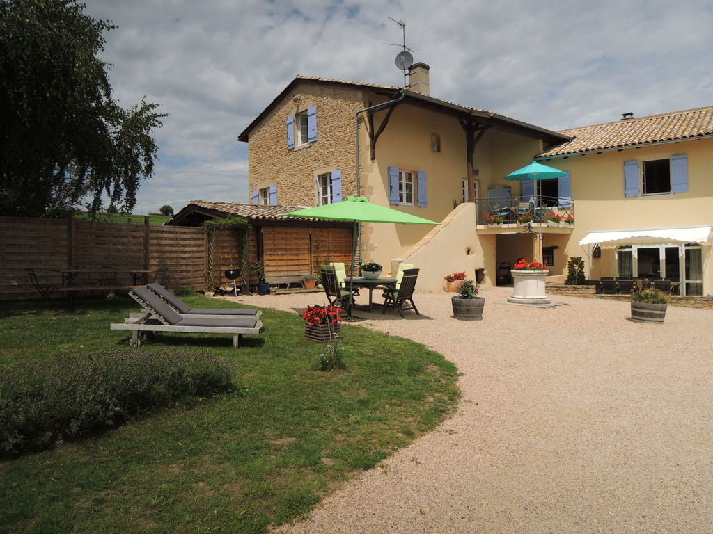 Ferienhaus Vintage-Bauernhof mit Pool in Vinzelles (357099), Crêches sur Saône, Saône-et-Loire, Burgund, Frankreich, Bild 6