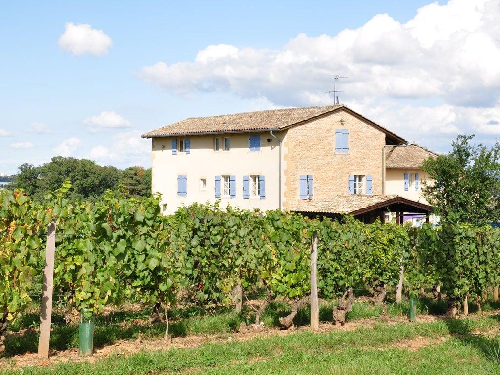 Ferienhaus Vintage-Bauernhof mit Pool in Vinzelles (357099), Crêches sur Saône, Saône-et-Loire, Burgund, Frankreich, Bild 5