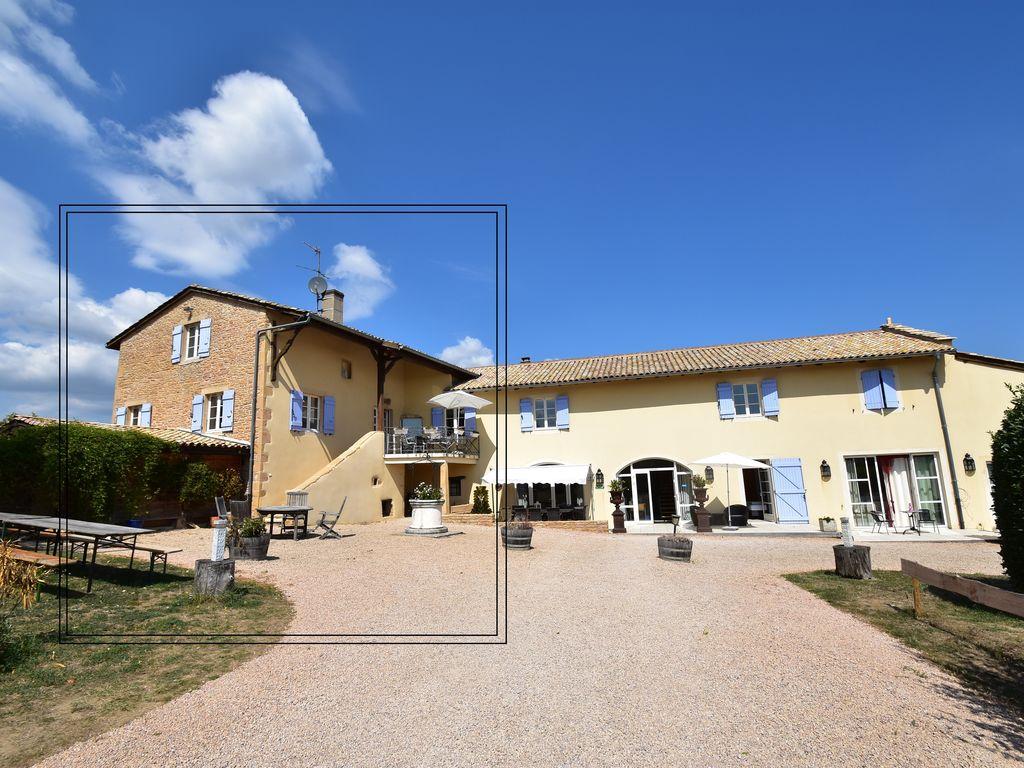 Ferienhaus La Côte des Blancs 8 pers (357099), Crêches sur Saône, Saône-et-Loire, Burgund, Frankreich, Bild 40