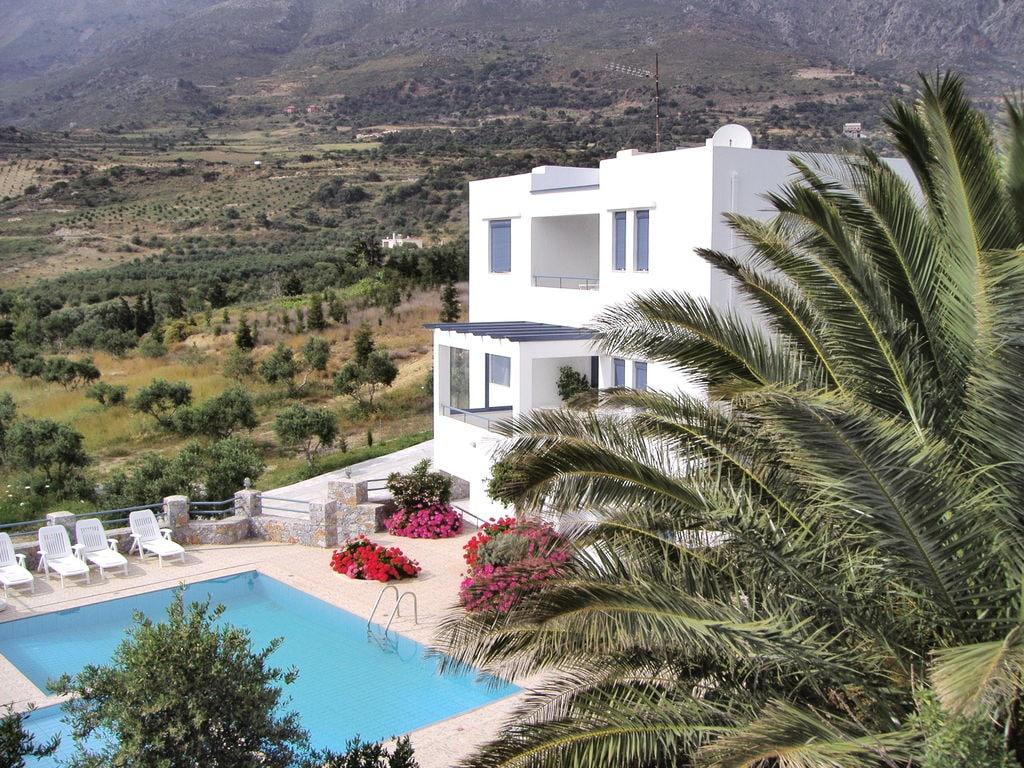 Holiday house Moderne Villa mit Swimmingpool in Lefkogia Kreta (376791), Agios Vasilios, Crete South Coast, Crete, Greece, picture 3