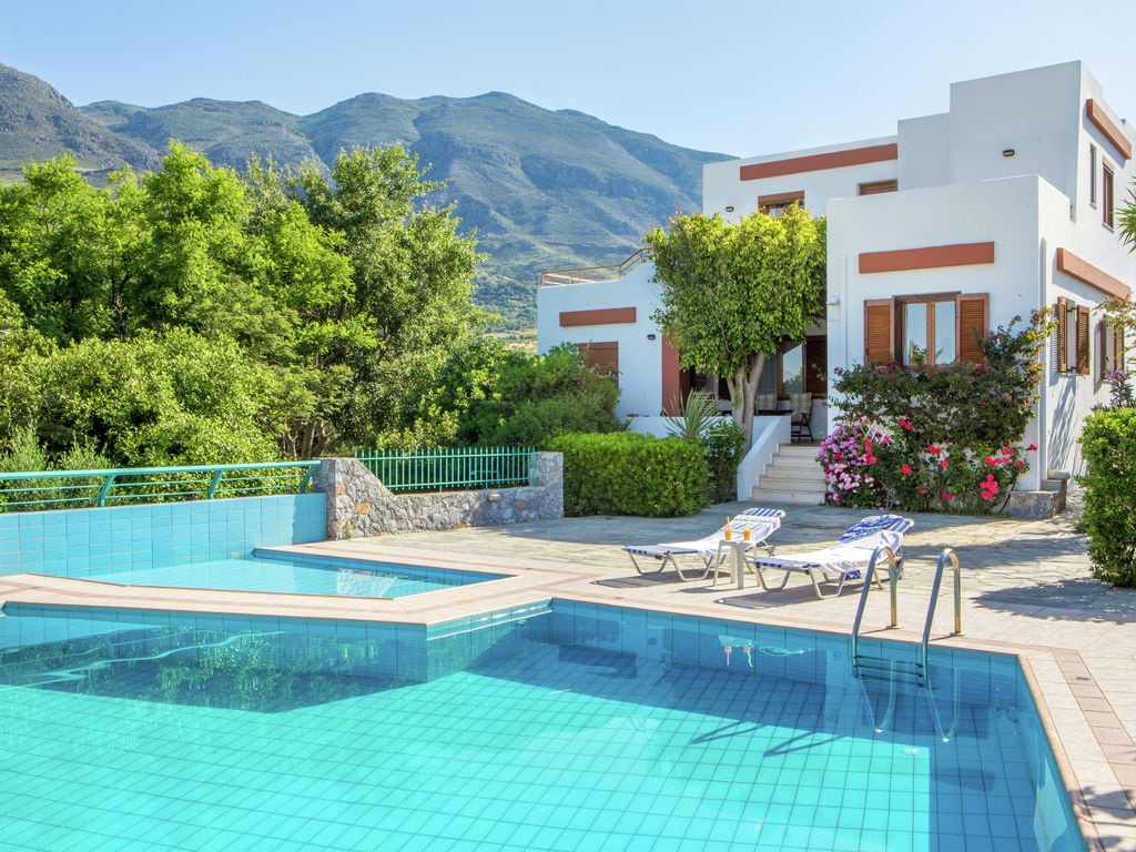 Holiday house Moderne Villa mit Swimmingpool in Lefkogia Kreta (376794), Agios Vasilios, Crete South Coast, Crete, Greece, picture 1